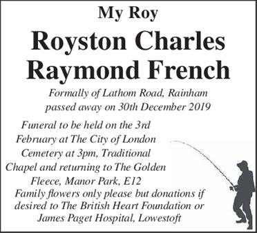 ROYSTON FRENCH
