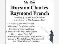 ROYSTON FRENCH