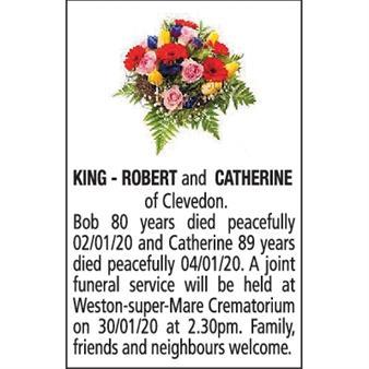 ROBERT and CATHERINE KING