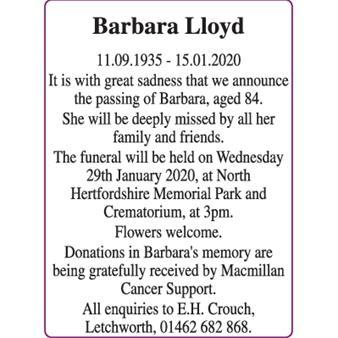 Barbara Lloyd