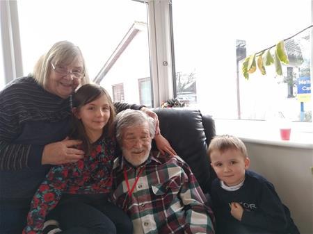 Rest in Peace Dad, Love Kevin, Angélique, Charlotte & Benjamin