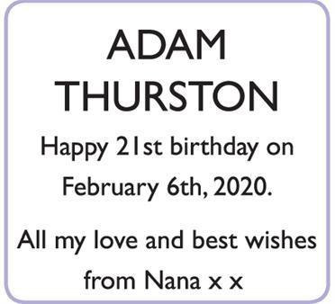 ADAM THURSTON