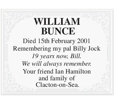 William Bunce