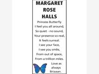 Margaret Rose Halls