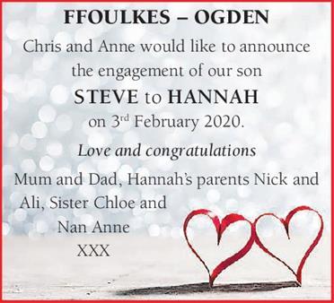 FFOLKES-OGDEN STEVE AND HANNAH