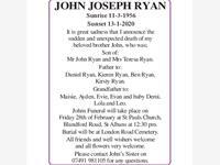 JOHN JOSEPH RYAN