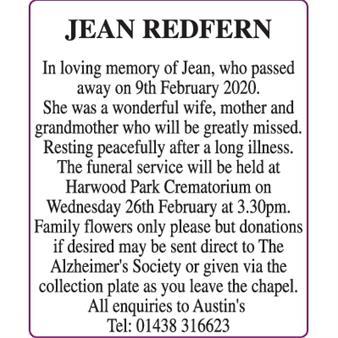 Jean Redfern