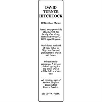 DAVID TURNER HITCHCOCK
