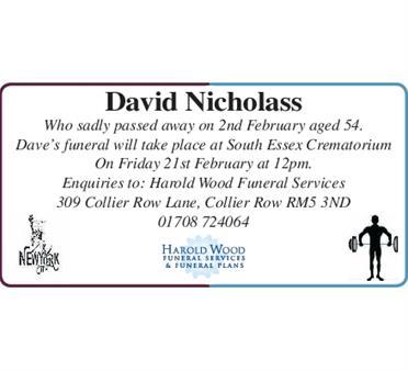 David Nicholass