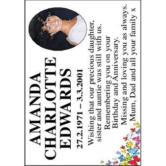 AMANDA CHARLOTTE EDWARDS