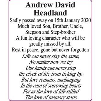 Andrew Headland