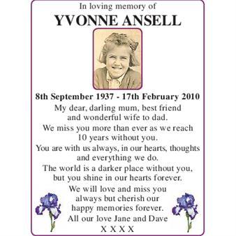 Yvonne Ansell