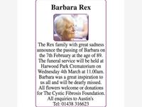 Barbara Rex