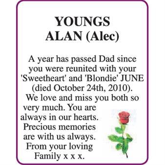 ALAN (Alec) YOUNGS