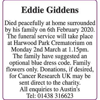 Eddie Giddens