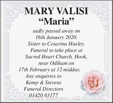 Mary Valisi