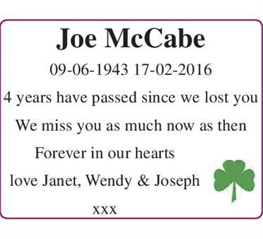 Joe McCabe