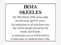 Irma Skeeels