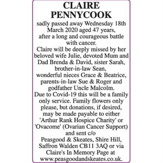 CLAIRE PENNYCOOK
