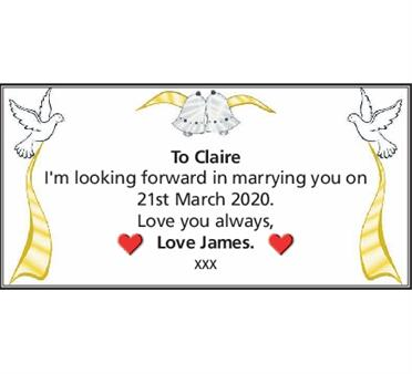 TO CLAIRE