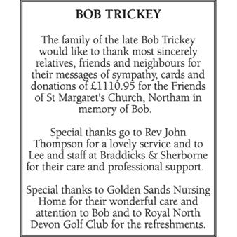 Bob Trickey