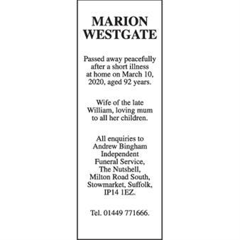 MARION WESTGATE