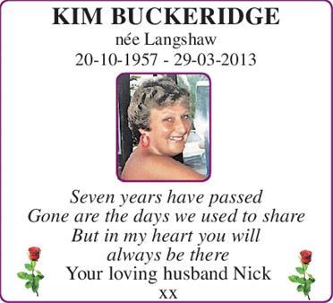 Kim Buckeridge