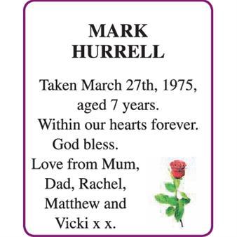 MARK HURRELL
