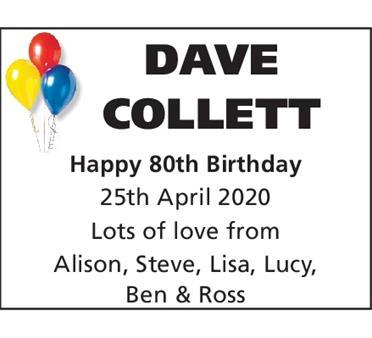 DAVE COLLETT