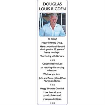 DOUGLAS LOUIS RIGDEN