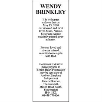 WENDY BRINKLEY
