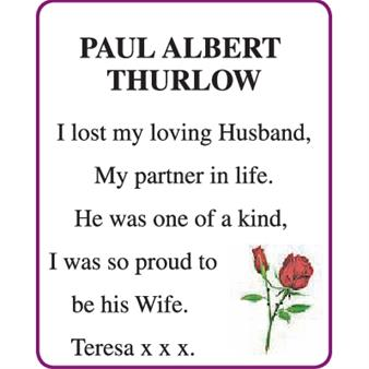 PAUL ALBERT THURLOW