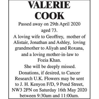 Valerie Cook