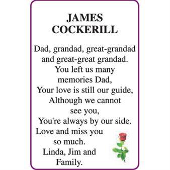 JAMES COCKERILL