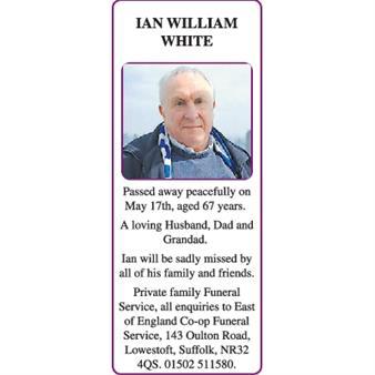 IAN WILLIAM WHITE