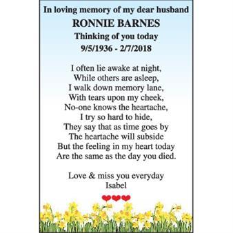 Ronnie Barnes