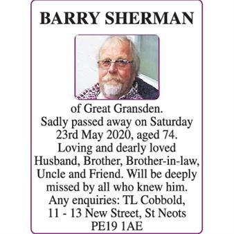 BARRY SHERMAN