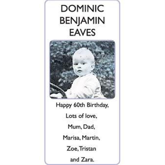 DOMINIC BENJAMIN EAVES