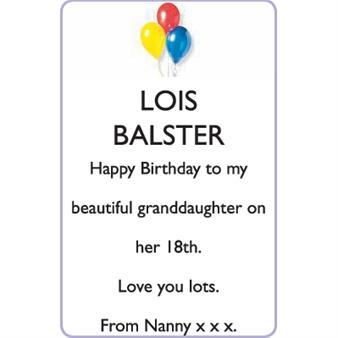LOIS BALSTER