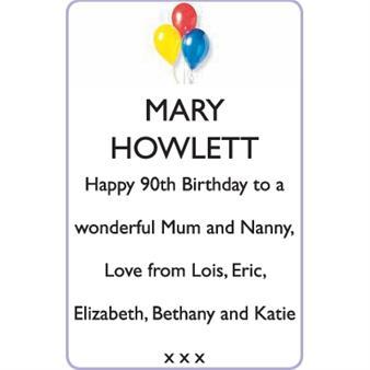 MARY HOWLETT
