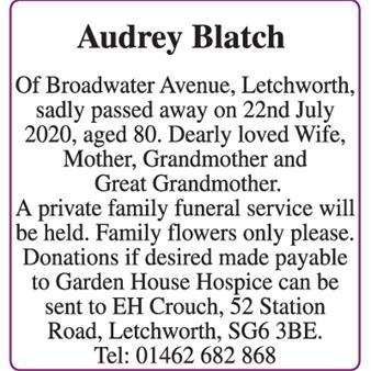 Audrey Blatch