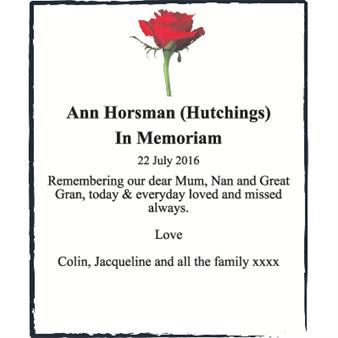 Ann Horsman
