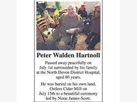 Peter Walden Hartnoll