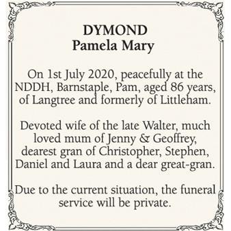 Pamela Dymond