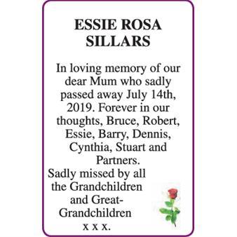 ESSIE ROSA SILLARS