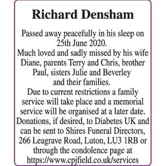 Richard densham