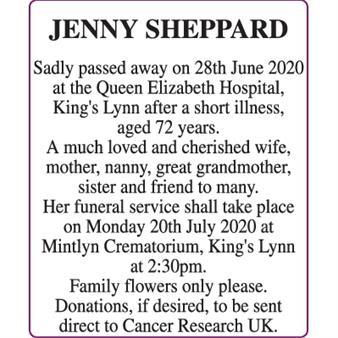 JENNY SHEPPARD