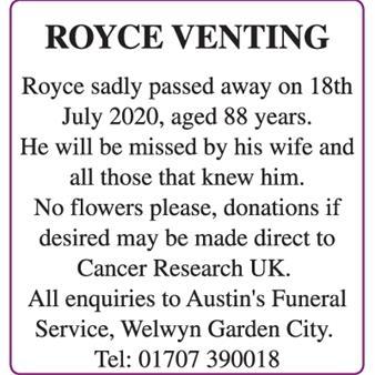 Royce Venting