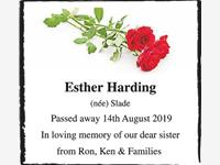 Esther Harding
