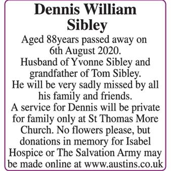 Dennis William Sibley